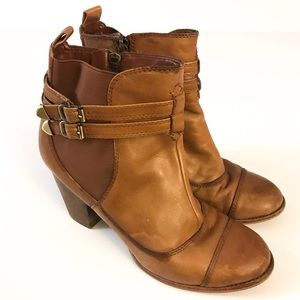 Giani Bernini Maci Tan Leather Boots